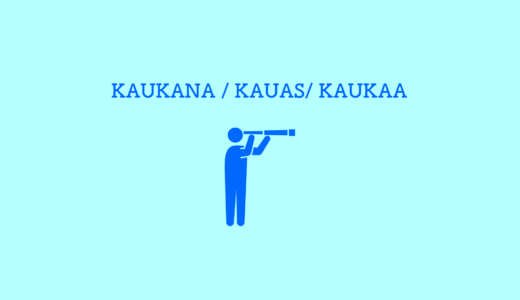 フィンランド語「遠くに/遠くへ/ 遠くから」の解説と例文